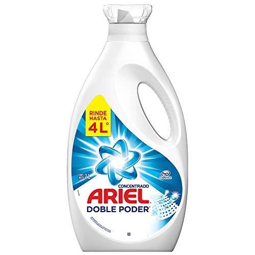 Ariel Detergente líquido concentrado 2 L, empaque puede variar