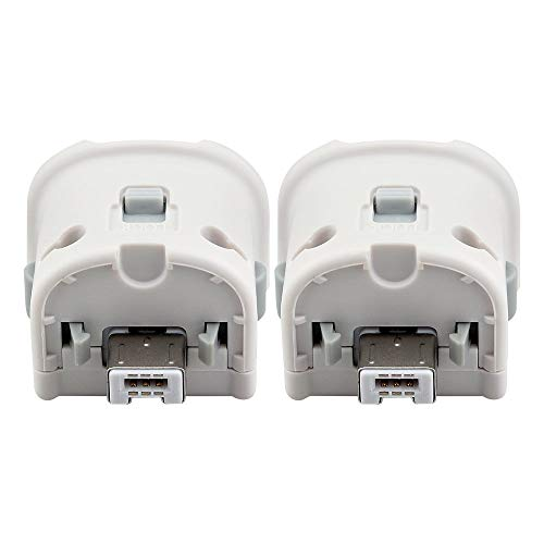 Maliralt Wii Motion Plus Adapter - 2 Pack, LP07 External Motion Plus Sensor Accelerator Adapter for...