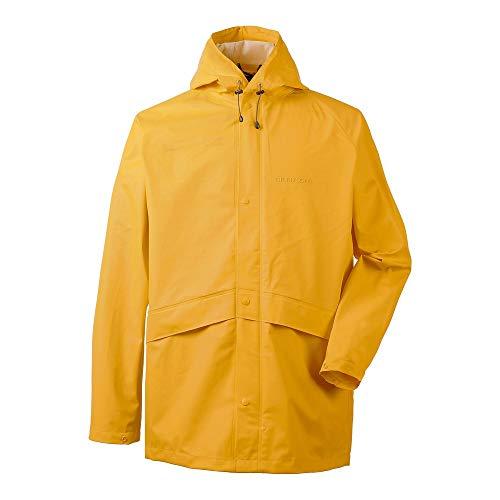 Didriksons Avon Jacket Gelb, Regenjacke, Größe XL - Farbe Oat Yellow