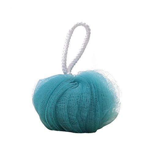 ZNQPLF Corps Éponge Fleur Exfoliante Brosse De Bain Boule Mesh Lait Nettoyant Douche Accessoires De Bain Fournitures Bain De Fleurs Super Soft (Color : Blue)