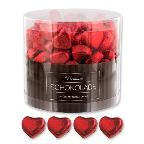 150 rote Schokolade Herzen Graz