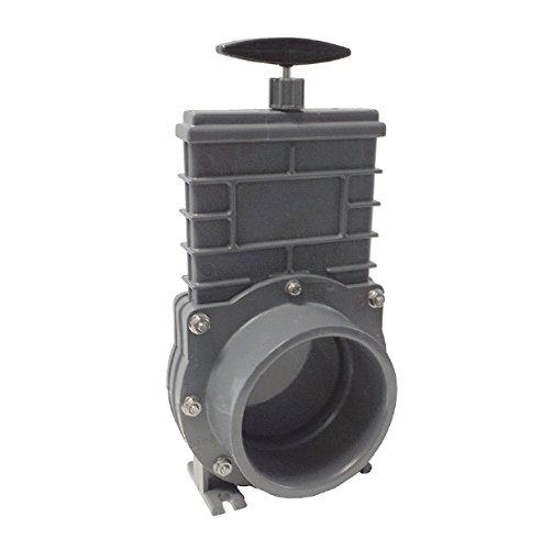 Valterra Zugschieber mit Kunststoffschieber und V2A Spindel, Ø 110 mm