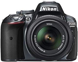 نيكونD5300 مع 18-55 و 8 جيجابايت كاميرا اس ال ار 3.2 انش شاشة 24.2 ميجابيكسل