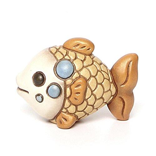 THUN Pesce Red Mini Ceramica, h 5,7 cm l