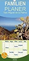 San Miguel de la Palma - Familienplaner hoch (Wandkalender 2022 , 21 cm x 45 cm, hoch): Ein Kalender mit 13 eindrucksvollen Reisefotos von einer der landschaftlich schoensten Inseln der Kanaren. (Monatskalender, 14 Seiten )