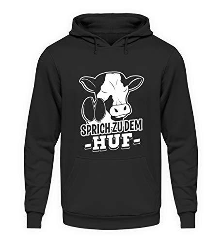 Sprich bij de heup voor koe fans - Unisex trui met capuchon hoodie