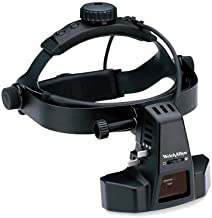 Welch Allyn 12500 Binocular Indirect Ophthalmoscope with Padded Headband, Cobalt-Blue Filter, Power Cord