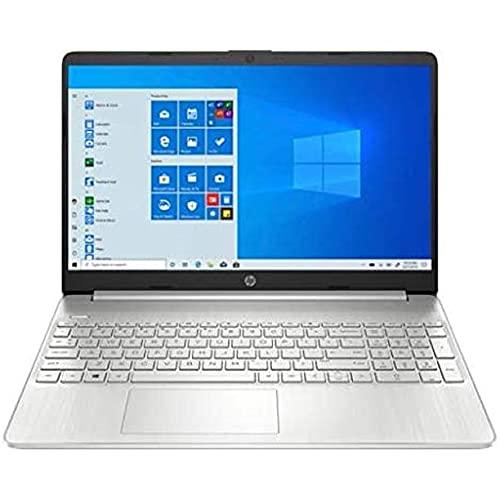 "2021 HP 15.6"" Full HD Laptop, 11th Gen Intel Core i7-1165G7 Processor (up to 4.7 GHz), 16GB (2 x 8GB) DDR4 RAM, 256GB SSD + 16 GB Intel Optane, HDMI, Bluetooth, Win 10 Home, Natural Silver"