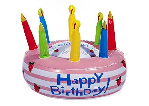 'Hinchable para Tartas Happy Birthday, 26cm D