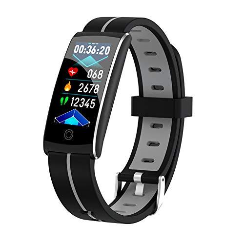 AEF Pulsera Actividad Inteligente, Impermeable IP68 Pulsera Inteligente 0.96 Pulgadas Pantalla Color, Monitor Ritmo Cardíaco y Sueño Modos Deporte Mujer Hombre Niño Smartwatch Android y iOS,2