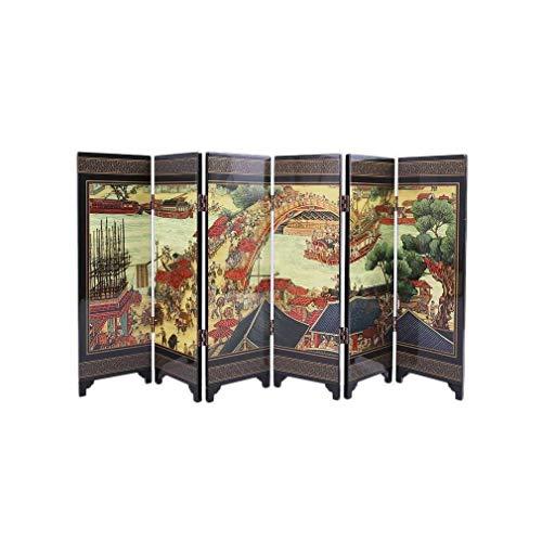 lachineuse PARAVENT con Modernos, Bianjing Color, 25x10x7cm