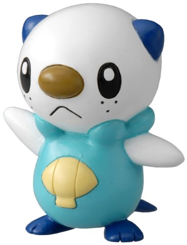 TAKARA TOMY TakaraTomy Pokemon Schwarz und Weiß Monster Collection Figur – m-003 – Mijumaru/Floink