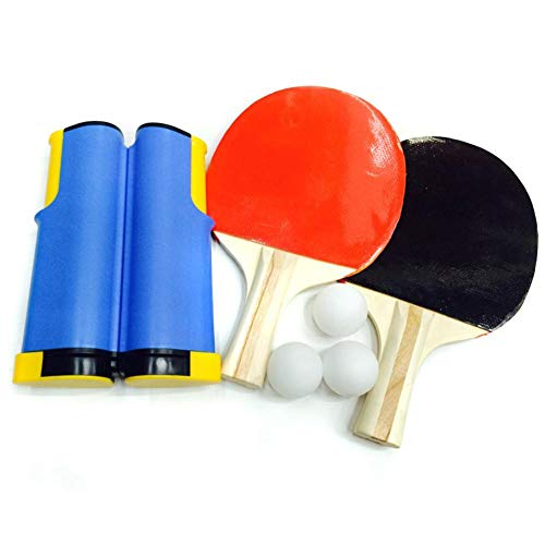 %73 OFF! Wurink Ping Pong Paddle Set Table Tennis Racket Set with Stable Base,Pro Premium Rackets, 6...