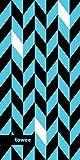 Towee Microfiber Toalla, Toalla de Secado rápido, Toalla de Viaje, Toalla Deportiva, Toalla de Yoga Dynamica Blue, 50 x 100 cm