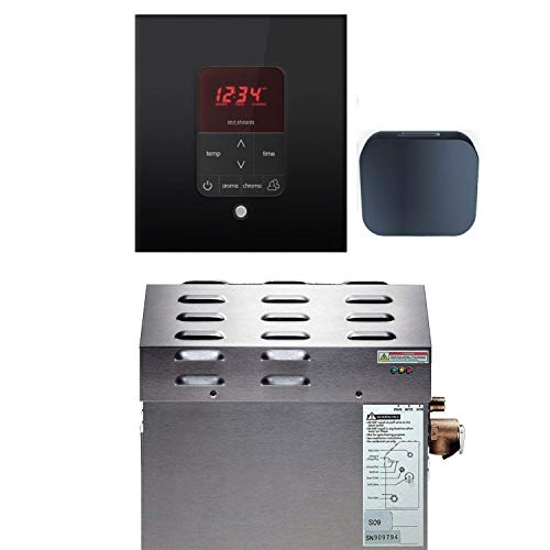 Review Mr Steam - Steam Bath Generator Package in Square Black Finish with Free Aroma Five Sampler P...
