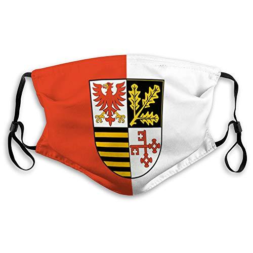 Walnut Cake Sicherheitsschild Wiederverwendbare Außenabdeckungen Flagge von Potsdam Mittelmark in Brandenburg Deutschland Komfortable Abdeckungen