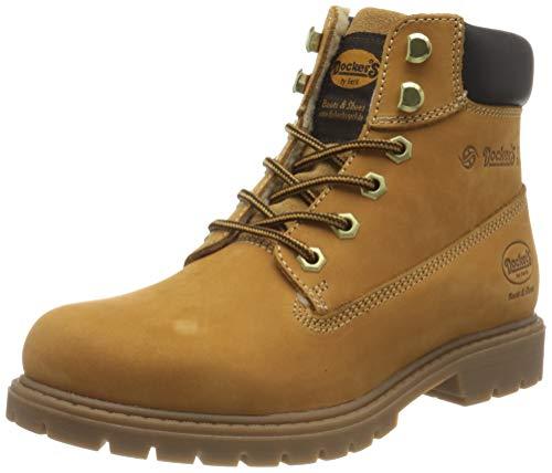 Dockers by Gerli Damen Classic Boots Pennsylvania Mode-Stiefel, golden tan, 38 EU