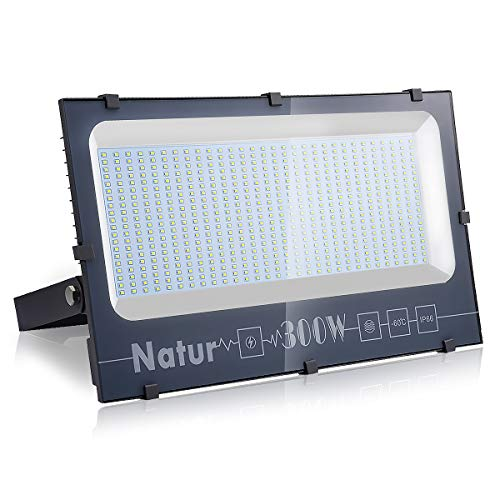 300W Focos LED Exterior, Proyector LED Exterior Impermeable IP66...