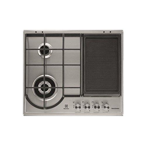 Plaque gaz Electrolux EGH6349GOX - 4 foyers