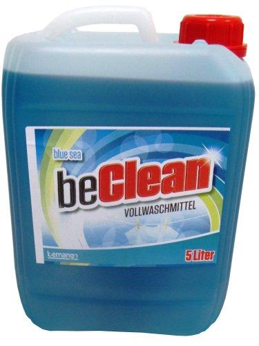 Flüssigwaschmittel beclean blue sea 5 Liter Kanister