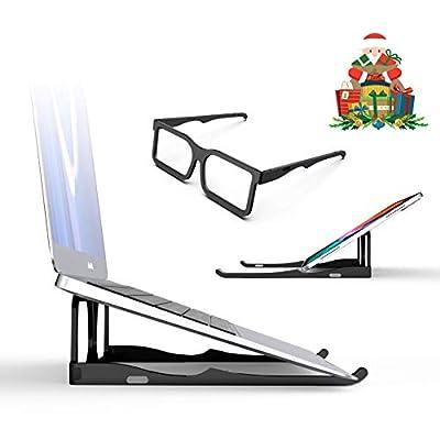 Amazon - 65% Off on Laptop Stand, 8AM Laptop Desk Portable Computer Stand Aluminum