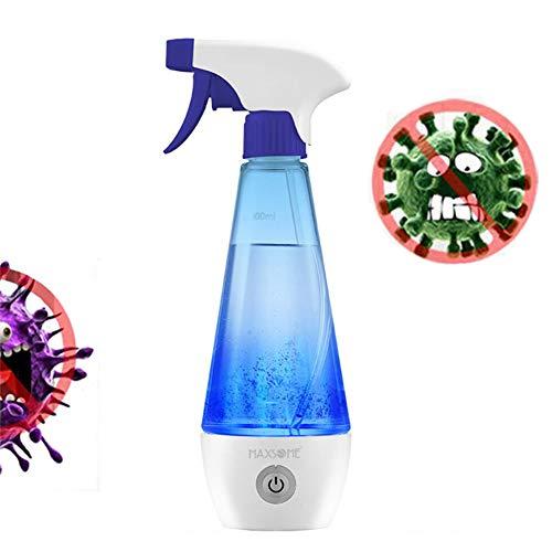 WHYTT Hohe Qualität Haushaltsdesinfektions-Flüssigkeitsherstellungsmaschine, 300ML Hausgemachte 84 Desinfektion Wasserreinigung Desinfektion Natriumhypochlorit Generator 5W