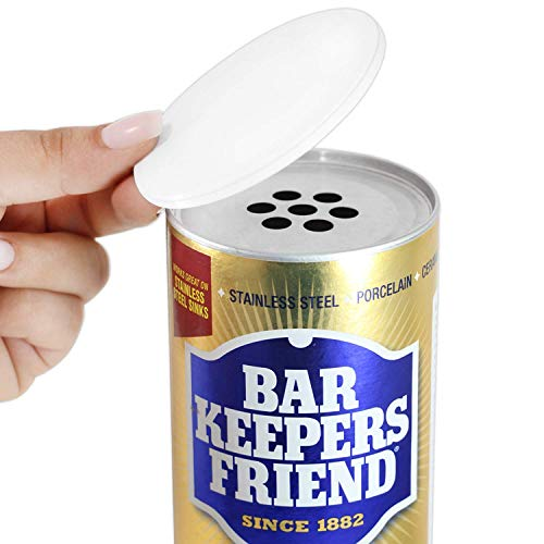 Tight Seal Closing Lid for Scouring Powders and Cleansers (Lid Only), Compatible with Bar Keepers Friend
