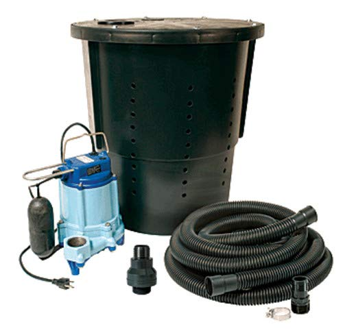 Little Giant 14940655 CS-SS Pre-Packaged Crawl Space Sump System