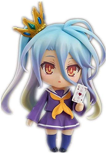 LJXGZY Von Handmade No Game No Life Figur Nendoroid & Shiro Figur Anime Chibi Figur Sammlung Dekoration Modell Geburtstagsgeschenk Statue