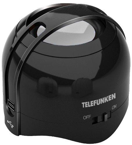 Telefunken ATBS0100 Mini-Bluetooth-Lautsprecher schwarz