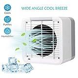 Kadola Portable AC Personal Air Conditioner, Humidifier and Purifier Small Portable Air Conditioner Mini Air Cooler