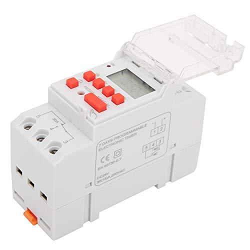 Timer On Off, interruttore timer programmabile Display digitale LCD Indicatore LED 24V DC per condizionatori d'aria per lampione