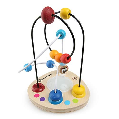Baby Einstein, Hape Juguete de madera con bolas de colores y música