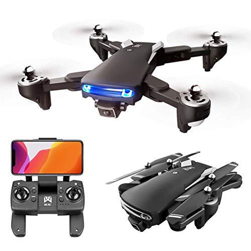 J-Love Drone con cámara Dual, 4K HD 5G WiFi FPV Drone para Adultos, cuadricóptero RC posicionamiento Flujo óptico con Modo sin Cabeza para niños, Adultos y Principiantes