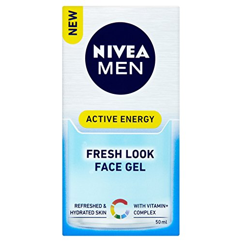 NIVEA MEN Active Energy Fresh Look, Gel Facial Hidratante, 50 ml
