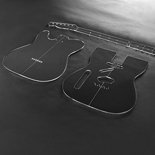 Acryl T-stijl gitaar sjabloon