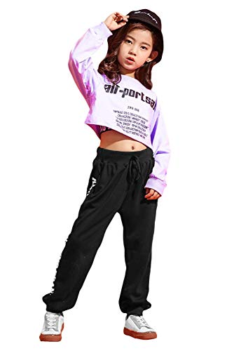 Hip Hop Mädchen Outfit Street Dance Klamotten Kinder mädchen Kleidung
