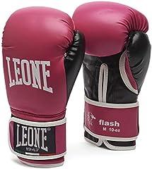 Leone 1947 Flash Guantes de Boxeo, Fucsia, M
