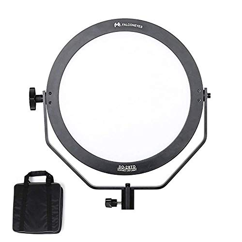 Falconeyes SO-28TD LED Panel Soft Videoleuchte 28W 3000K-5600K Fotografie Dauerlicht LED Portrait Licht for Photography