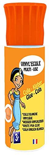Cléopâtre - VI25X - Vinyl'Ecole - Cola vinílica con una contera biberón - Frasco de 25 g