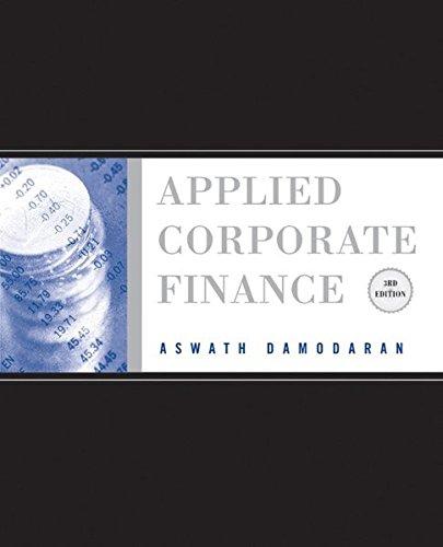 Applied Corporate Finance
