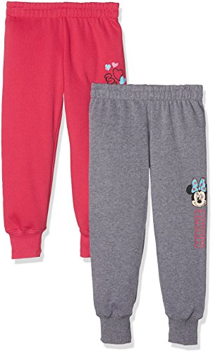 Disney Minnie Mouse Mädchen Jogginghose im 2er Pack, Mehrfarbig (Multi 001), Gr. 116 (Herstellergröße: 6 Jahre)