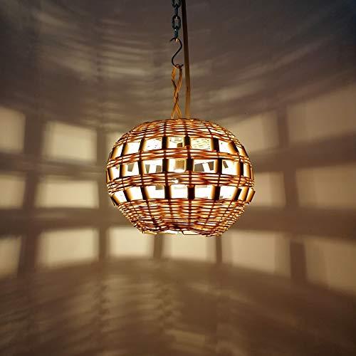 lampadario a sospensione vimini Etnico Arredo Lampadario Palma Vimini Paglia Rattan Sospensione Marocco 3003211000