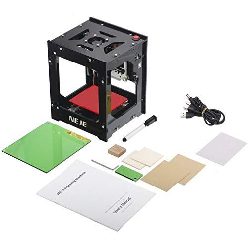 Kinshops Automatic CNC Wood Router Laser Engraver Printer Cutter Cutting Machine