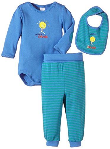 Schiesser AG Schiesser Baby - Jungen Unterwäsche-Set, 3Er Pack, Gr. 68, Mehrfarbig (Sortiert 1 901)