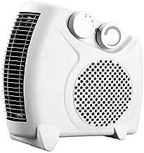 Enamic UK Happy Home Laurels Fan Heater Heat Blow    Silent Fan Room Heater (White)    with 1 Season Warranty    M-01