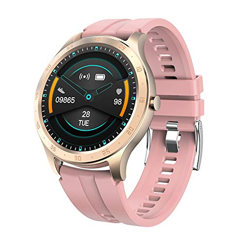 Hasta la fecha 696 S20 Touch Sport Smart Watch IP67 Monitor de sueño Fitness Pulsera (rosa)