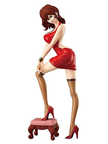 Figura FUJIKO MINE 25cm VERSIONE VERDE A Serie GLITTER GLAMOURS Banpresto Lupin