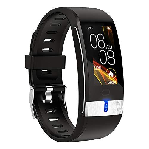 WYLZLIY-Home Pulsera deportiva inteligente E88, seguimiento de actividad, reloj de ejercicio de salud con monitor de ritmo cardíaco y sueño, función de cuenta de pasos saludables
