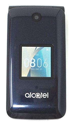 Alcatel GO FLIP 4044 2.8in GSM Unlocked 4GB Blue 4G LTE 2.0MP Wi-Fi Calling (Renewed)